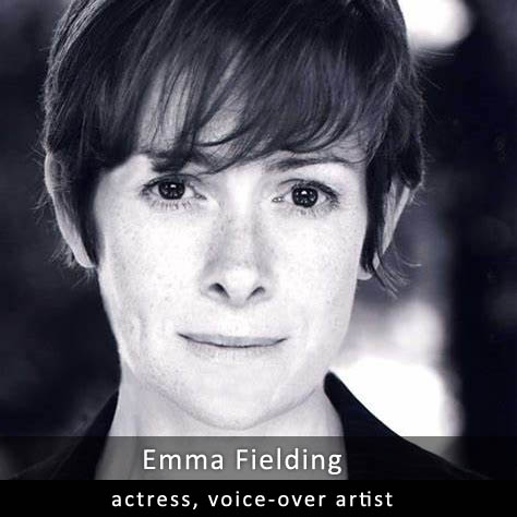 Emma Fielding - actress, radio and games voice-over artist